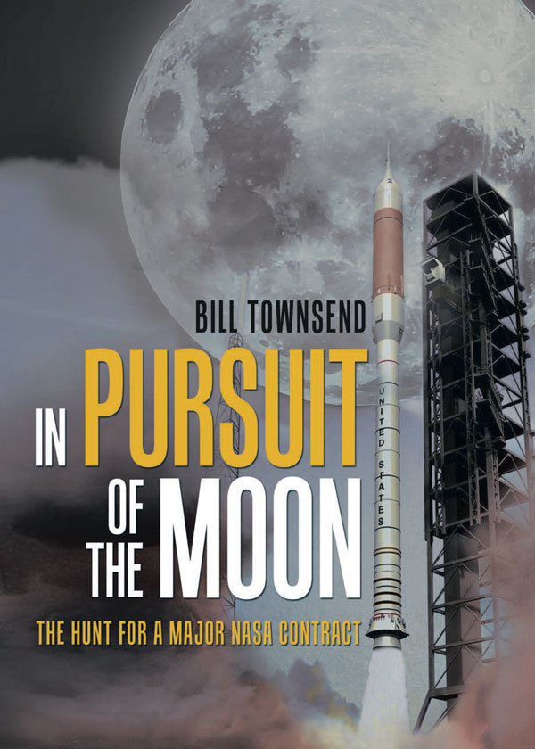 """In Pursuit of the Moon"" Book Cover"